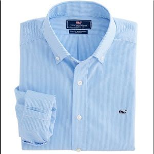 Vineyard Vines Scilly Cay Stripe Slim Whale Shirt